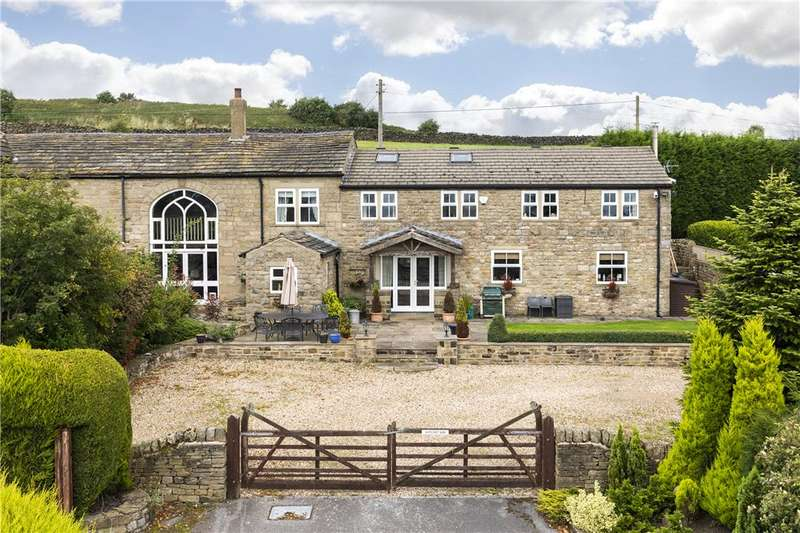 4 Bedrooms Barn Conversion Character Property for sale in Whitecroft Barn, Otley Road, Eldwick, West Yorkshire