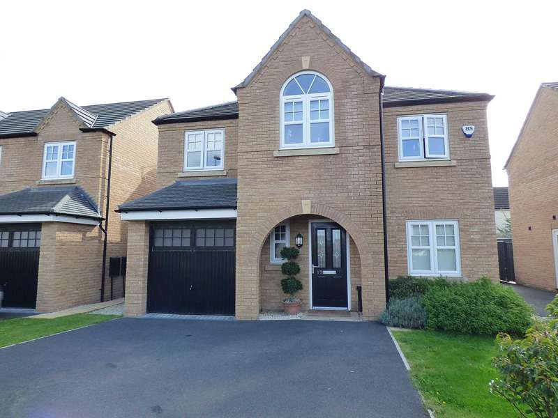 4 Bedrooms Detached House for sale in Unsworth Way, St Annes