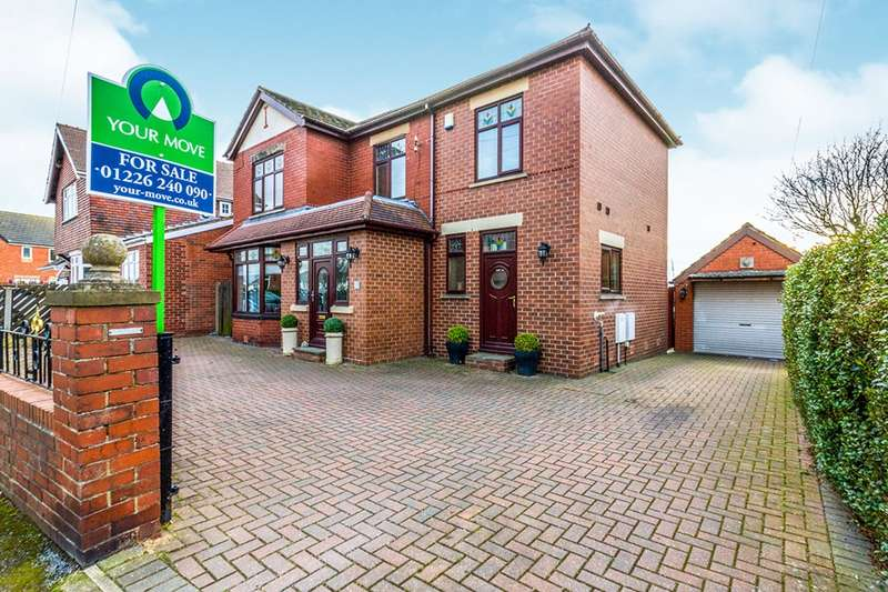 4 Bedrooms Detached House for sale in Moorland Avenue, Barnsley, South Yorkshire, S70
