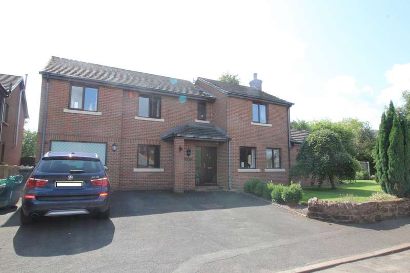4 Bedrooms Detached House for sale in Ghyll Road, Scotby, Carlisle, Cumbria, CA4