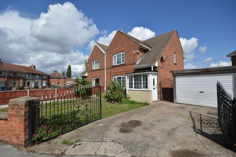 3 Bedrooms Semi Detached House for sale in Milne Drive, Bircotes, Doncaster, South Yorkshire, DN11