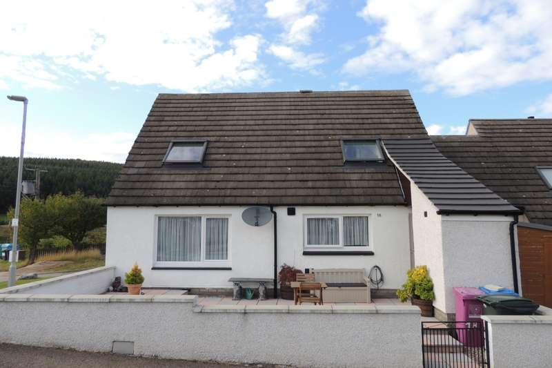 3 Bedrooms Semi Detached House for sale in Allt-Na-Coire, Tomnavoulin, Ballindalloch, Banffshire, AB37