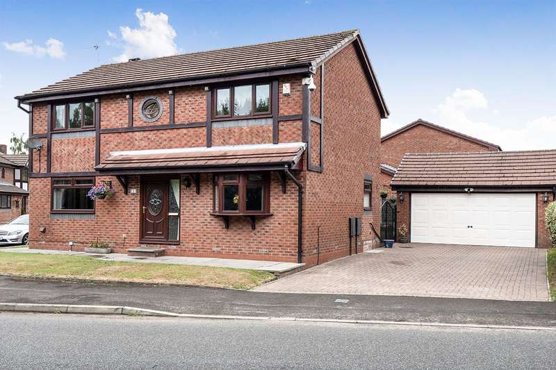 4 Bedrooms Detached House for sale in Greenbank Road, Radcliffe, Manchester, Greater Manchester, M26