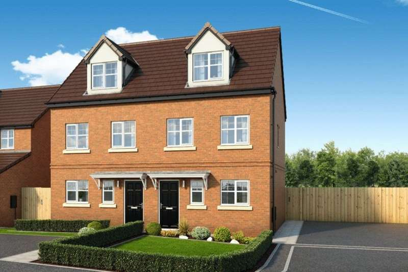 3 Bedrooms Semi Detached House for sale in Newbury Road, Skelmersdale, Lancashire, WN8