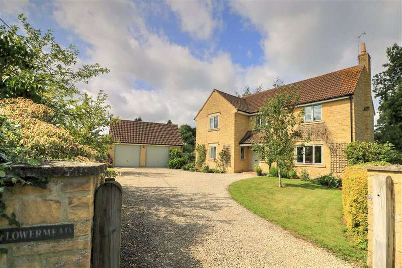 5 Bedrooms Detached House for sale in Flowermead, The Street, Lea, Nr Malmesbury, Malmesbury
