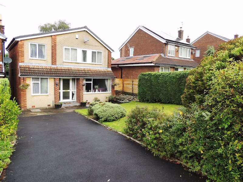 4 Bedrooms Detached House for sale in Carrbrook Crescent, Carrbrook, Stalybridge