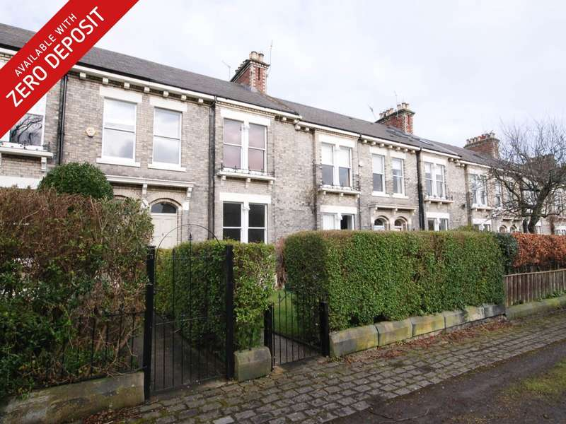 4 Bedrooms Terraced House for rent in Roseworth Terrace, Gosforth