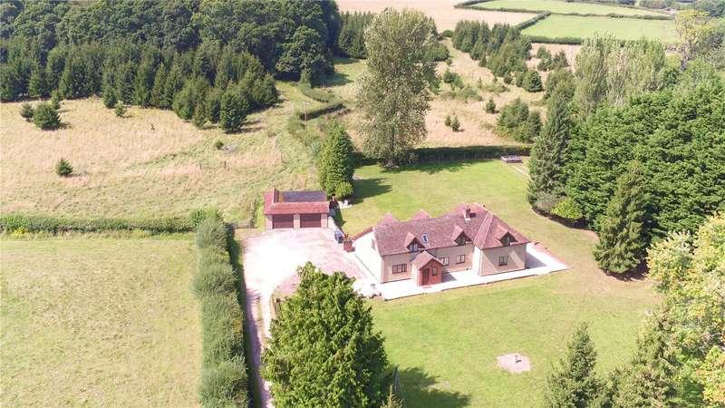 5 Bedrooms Detached House for sale in Lyburn Road, Hamptworth, Salisbury, Wiltshire, SP5