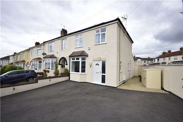 3 Bedrooms End Of Terrace House for sale in King Johns Road, Kingswood, Bristol, BS15 1NL