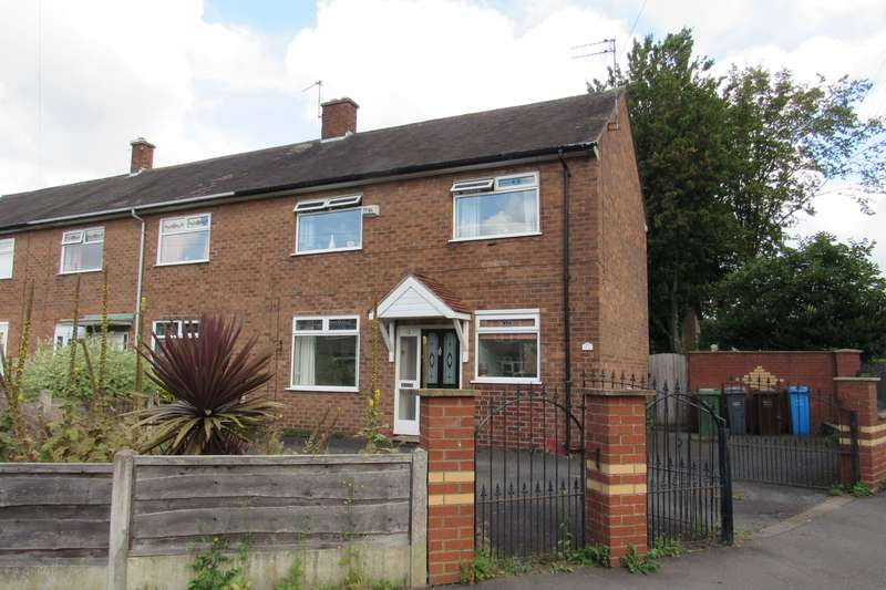 3 Bedrooms End Of Terrace House for sale in West View Road, Manchester, M22