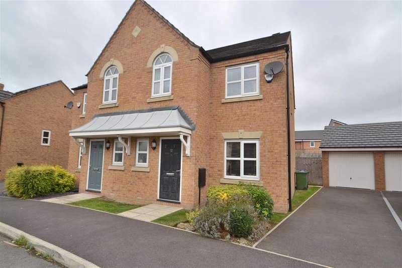 3 Bedrooms Semi Detached House for sale in Powder Mill Road, LATCHFORD, Warrington, WA4