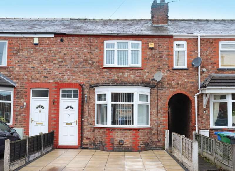 2 Bedrooms Terraced House for sale in Pendlebury Street, Warrington, Cheshire, WA4
