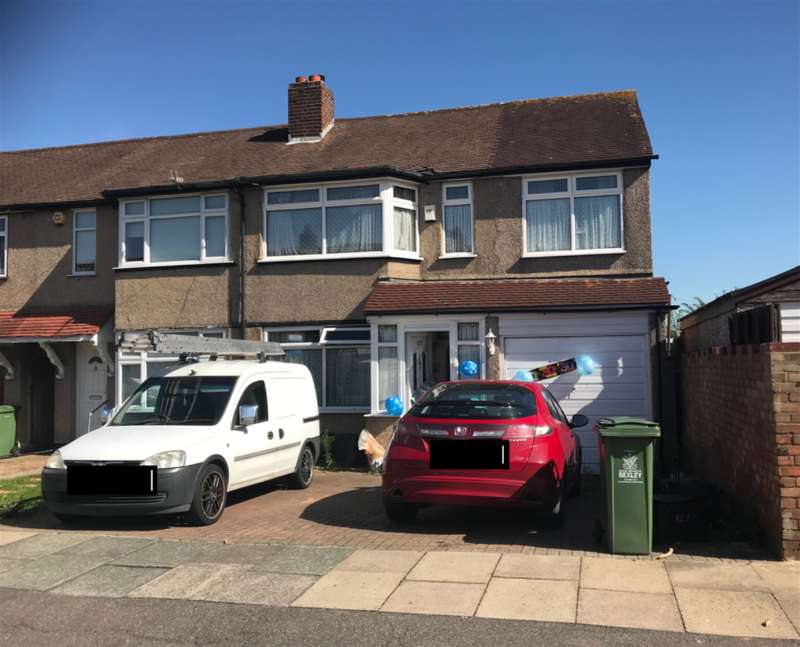 3 Bedrooms End Of Terrace House for sale in Radnor Avenue, , Welling, Kent