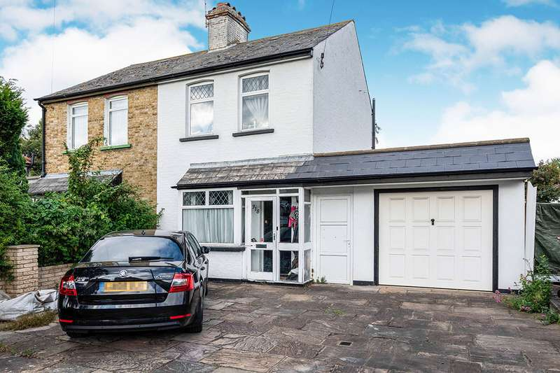 2 Bedrooms Semi Detached House for sale in Gander Green Lane, Cheam, Sutton, Surrey, SM3