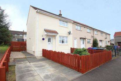 2 Bedrooms End Of Terrace House for sale in Churchill Avenue, Kilwinning, North Ayrshire