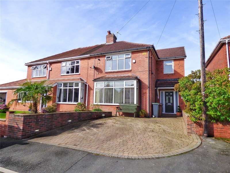 4 Bedrooms Semi Detached House for sale in Harton Close, Shaw, Oldham, OL2