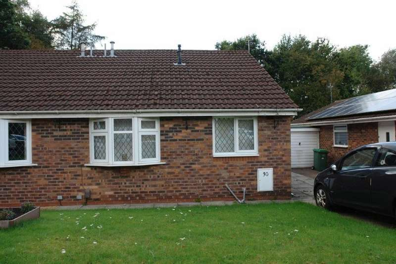 2 Bedrooms Semi Detached Bungalow for sale in Haggate Crescent, Royton