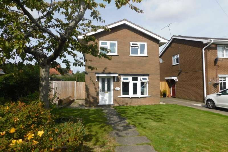 3 Bedrooms Detached House for sale in Clare Drive, Wistaston, Crewe, CW2