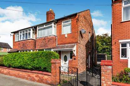 3 Bedrooms Semi Detached House for sale in Rushton Road, Edgeley, Stockport, Cheshire