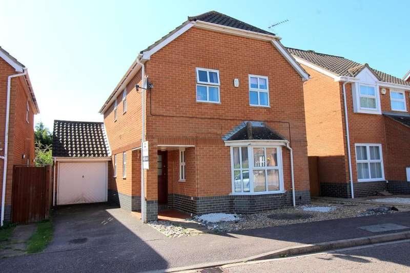 4 Bedrooms Detached House for sale in Broadacres, Luton, Bedfordshire, LU2 7YF