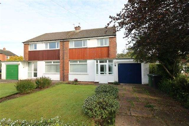 3 Bedrooms Semi Detached House for sale in Jackson Road, Houghton, Carlisle, Cumbria, CA3 0NW