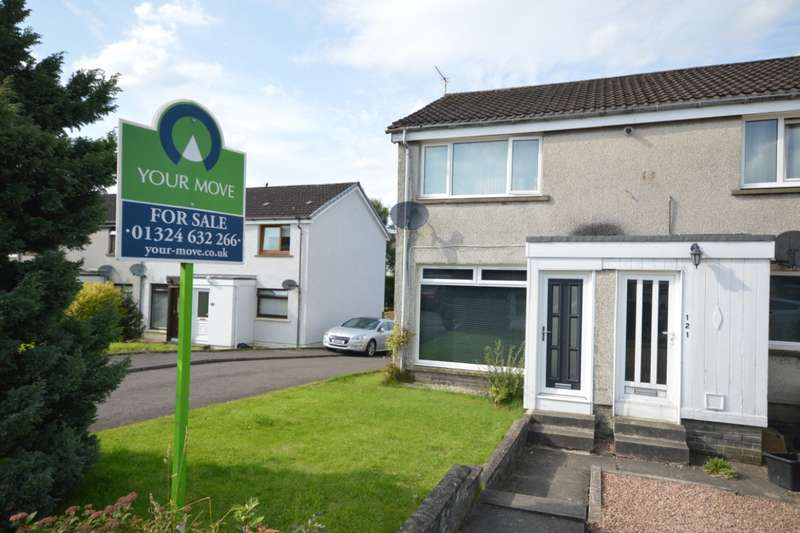 2 Bedrooms Apartment Flat for sale in Ingleston Avenue, Denny, Stirlingshire, FK6