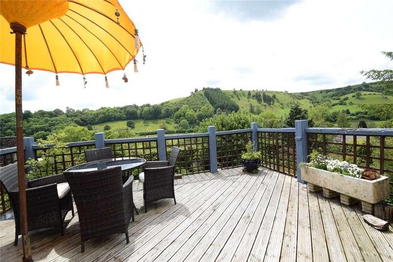 3 Bedrooms Detached Bungalow for sale in Ladycroft, Llanfairwaterdine, Knighton, Shropshire, LD7