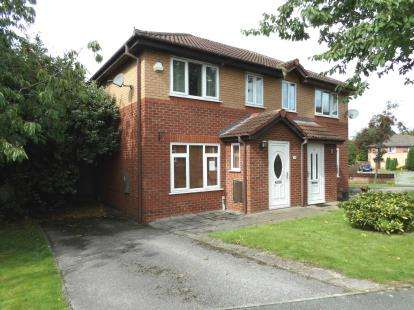 2 Bedrooms Semi Detached House for sale in Mendip Close, Winsford, Cheshire