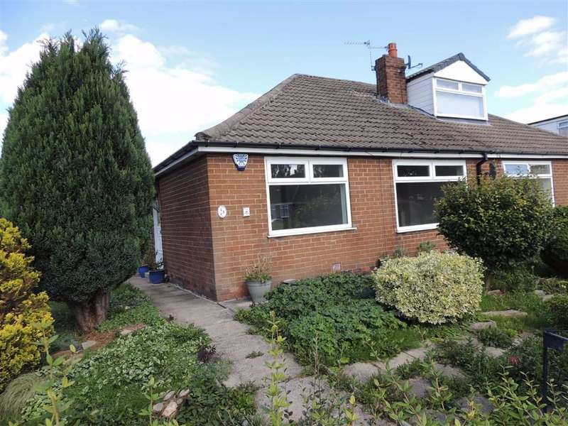 2 Bedrooms Semi Detached Bungalow for sale in Powicke Drive, Romiley, Stockport