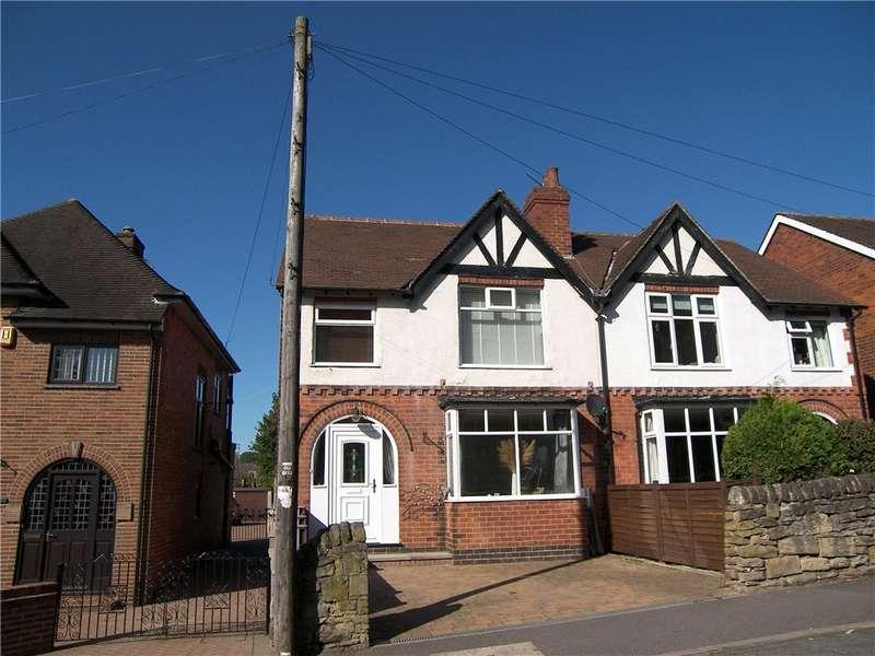 3 Bedrooms Semi Detached House for sale in Field Lane, Belper, Derbyshire, DE56