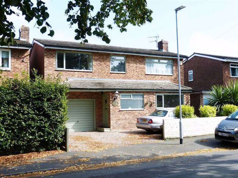4 Bedrooms Detached House for sale in Oakfield Road, Alderley Edge