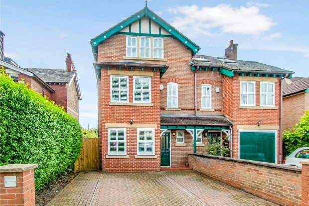 4 Bedrooms Semi Detached House for sale in Bankhall Lane, Hale