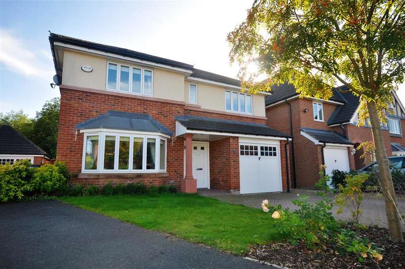 4 Bedrooms Detached House for sale in Yew Tree Avenue, Saughall, Chester