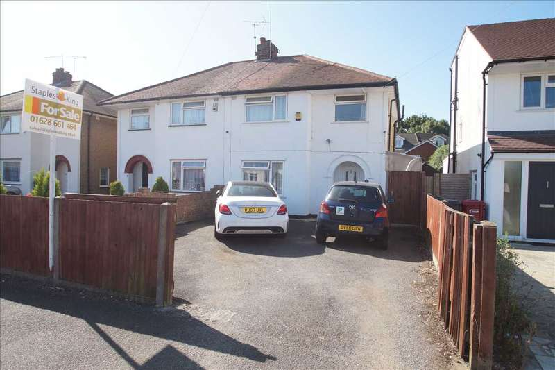 3 Bedrooms Semi Detached House for sale in Bowyer Drive, Cippenham
