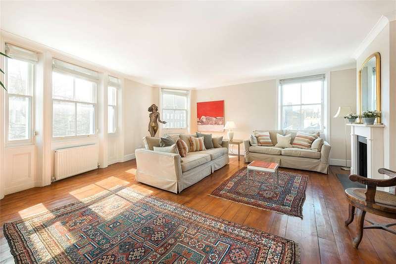 3 Bedrooms End Of Terrace House for sale in Kensington Church Street, & Bedford House, London, W8