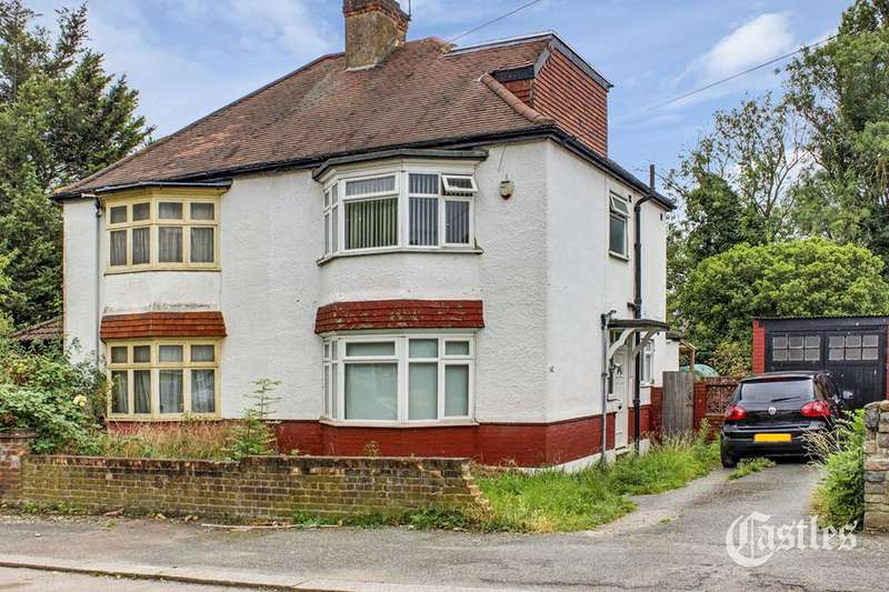 4 Bedrooms Semi Detached House for sale in Norfolk Avenue, Palmers Green, London, N13