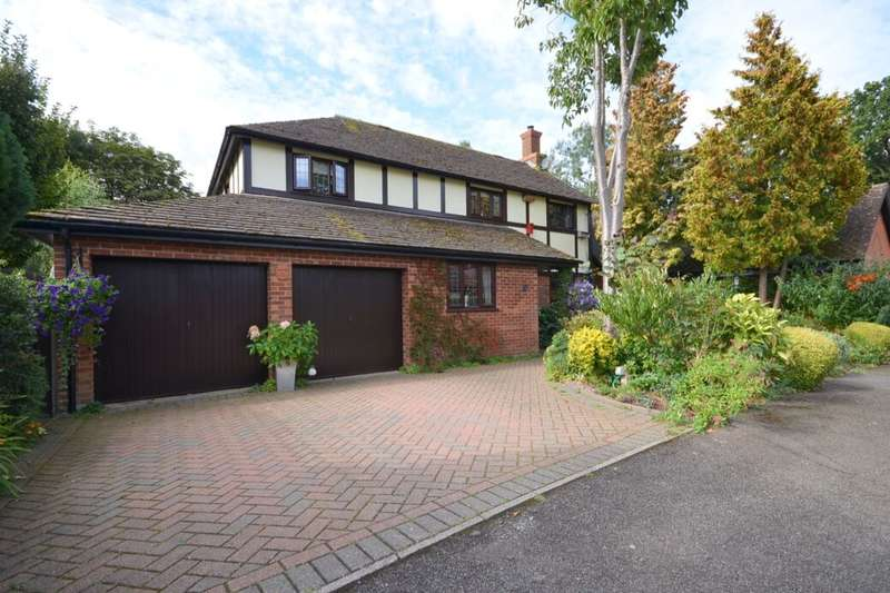4 Bedrooms Detached House for sale in Holbein Gardens, West Hunsbury, Northampton, NN4