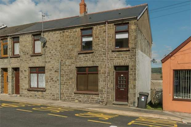 3 Bedrooms End Of Terrace House for sale in Cemetery Road, Aberdare, Mid Glamorgan