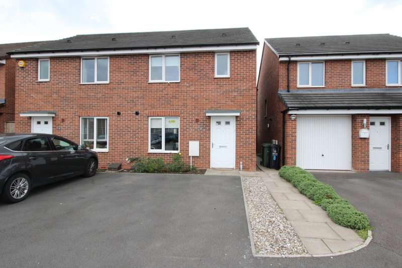 3 Bedrooms Semi Detached House for sale in Spring Lane, Willenhall, West Midlands, WV12