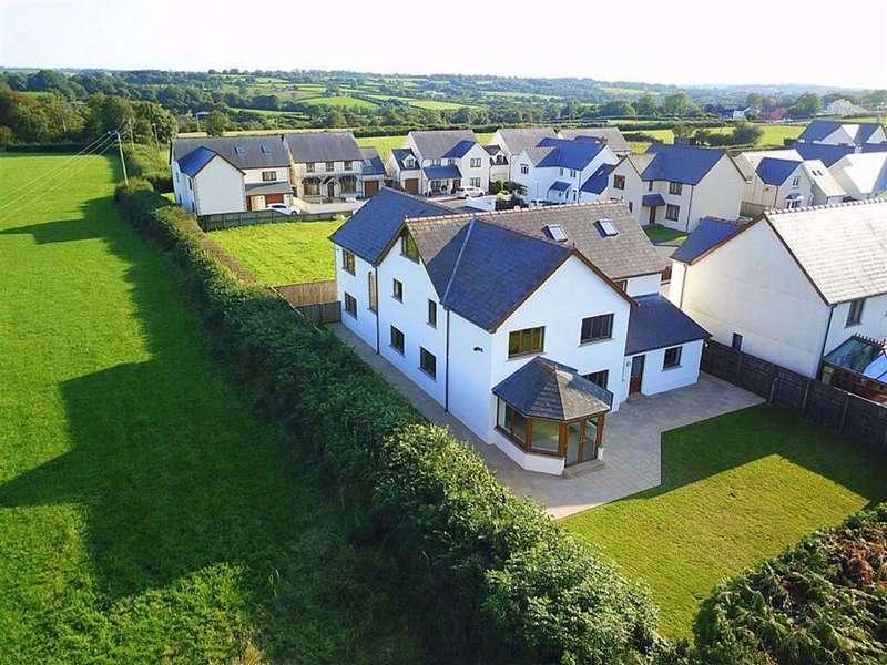 6 Bedrooms Detached House for sale in Bro'R Dderwen, Clynderwen, Pembrokeshire