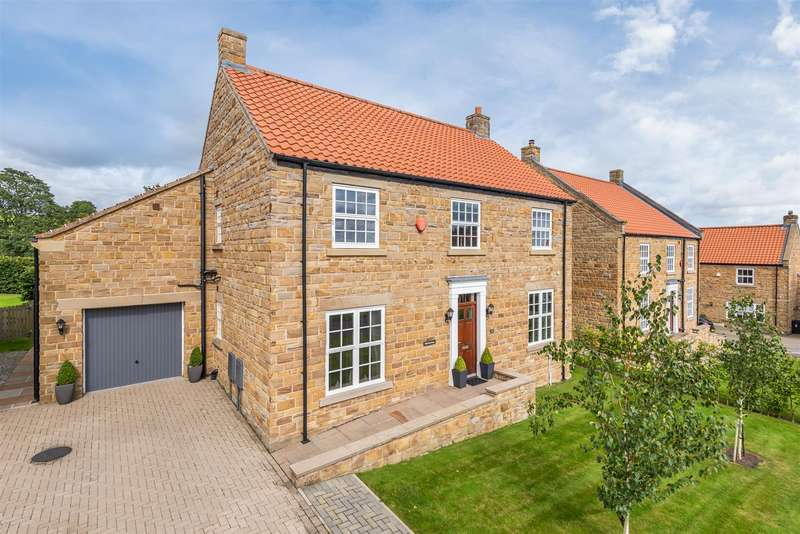 4 Bedrooms Detached House for sale in Field View House, 5 Thornton View, Thornton-Le-Dale, Pickering, YO18 7BG