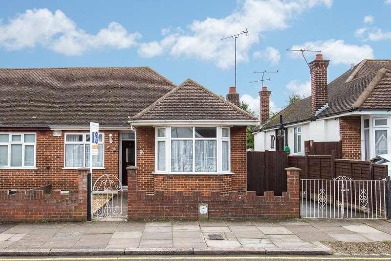 3 Bedrooms Semi Detached Bungalow for sale in Faringdon Road, Luton, Bedfordshire