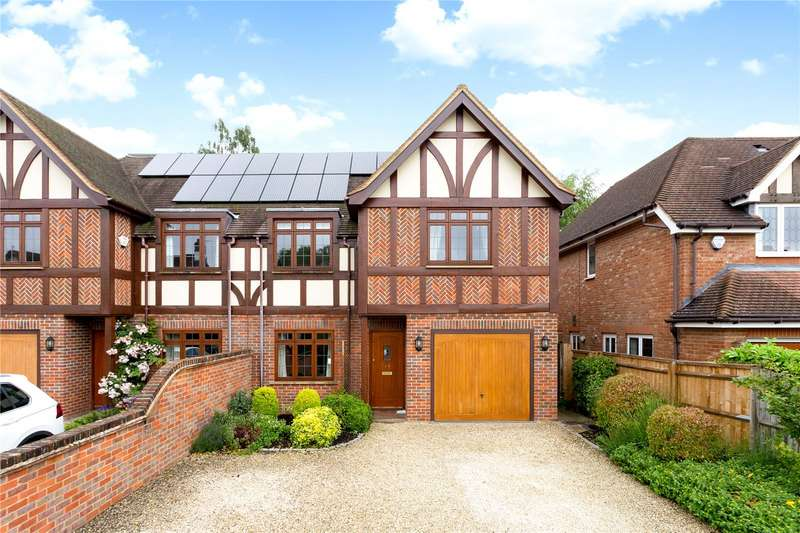 4 Bedrooms Semi Detached House for sale in Reynolds Road, Beaconsfield, Buckinghamshire, HP9