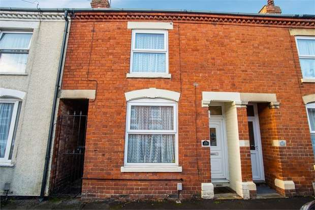 2 Bedrooms Terraced House for sale in Glassbrook Road, Rushden, Northamptonshire