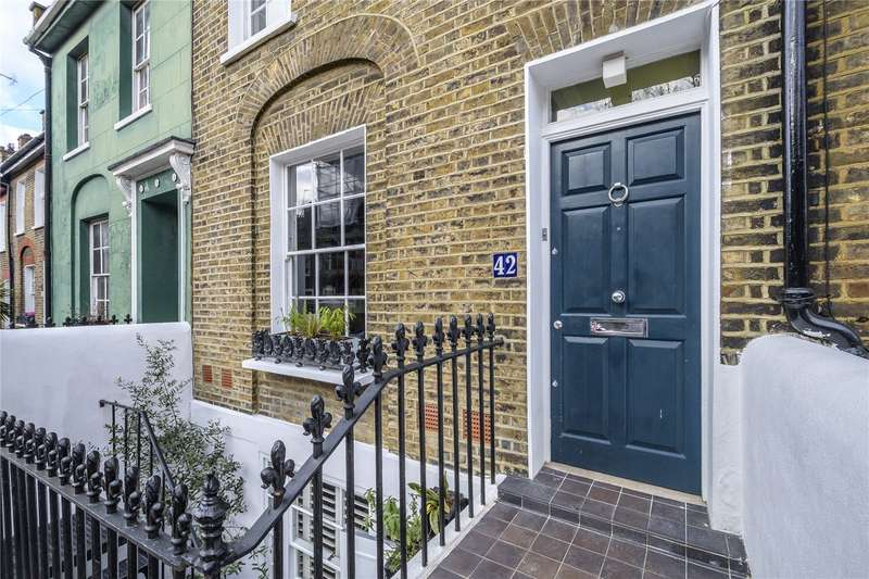 3 Bedrooms Terraced House for sale in Ripplevale Grove, London, N1