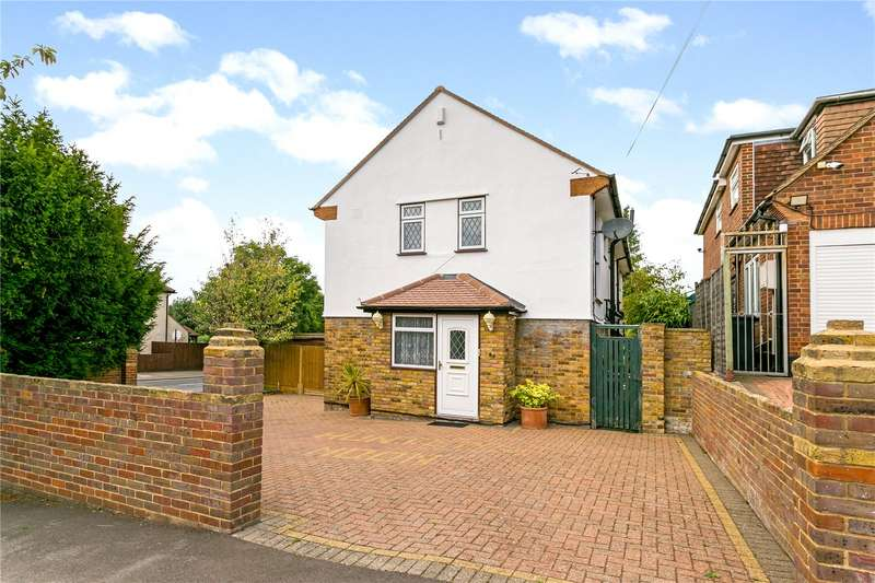4 Bedrooms Detached House for sale in Langley Way, Watford, Hertfordshire, WD17