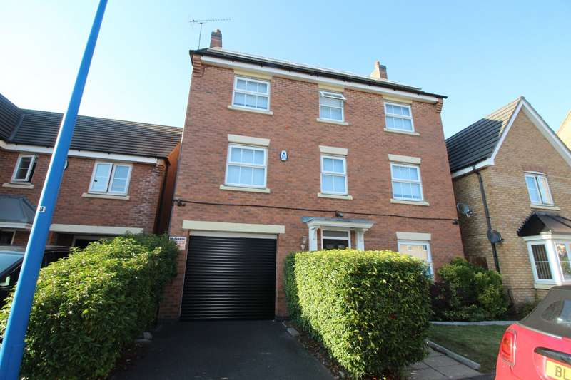 5 Bedrooms Detached House for sale in Gough Drive, Tipton, West Midlands, DY4