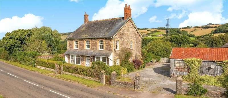 4 Bedrooms Detached House for sale in Shillingford, Tiverton, Devon, EX16