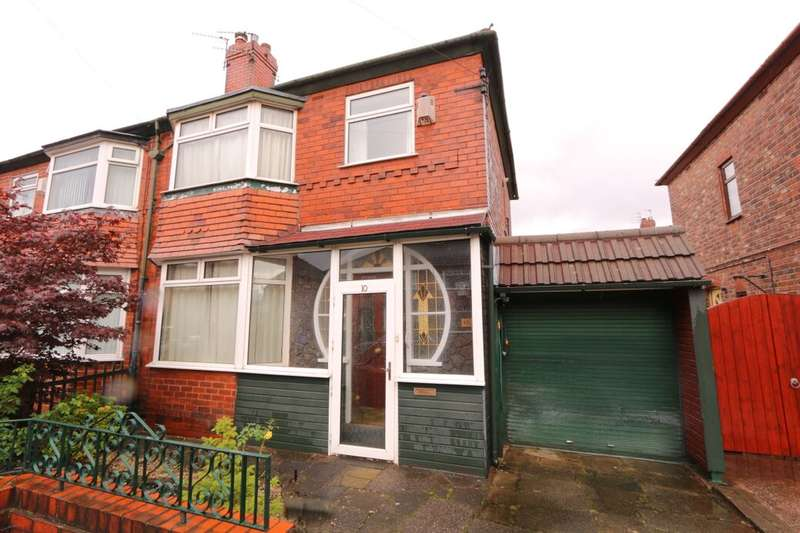3 Bedrooms Semi Detached House for sale in Earlston Avenue, Denton, Manchester, M34