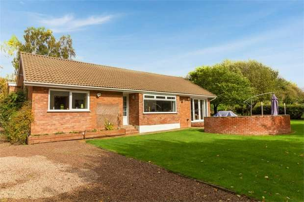 3 Bedrooms Detached Bungalow for sale in Bell Lane, Broadheath, Tenbury Wells, Worcestershire